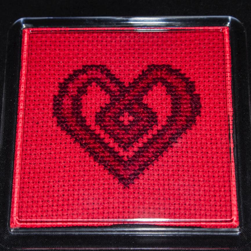 Chael's Celtic Heart coaster